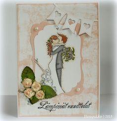 Stamping Bella, wedding card Bella Wedding, Wedding Crafts, Stamping, Cards, Stamps, Stamp Sets, Maps, Playing Cards, Printing