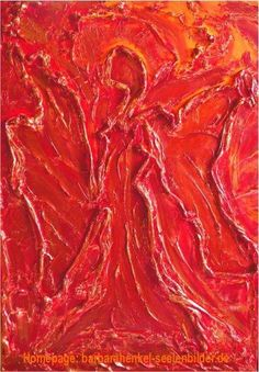 """ Erzengel Uriel "" (40x30cm) - als Druck auf Strukturpapier   KunstiX"