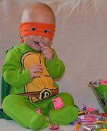 Infant Mutant Ninja Turtle Homemade Costume