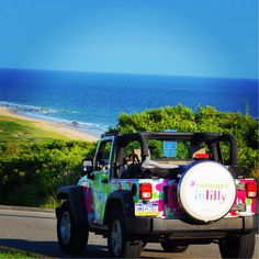 Lilly Jeep on the Move