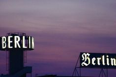 Going next week! Berlin Today, Close To My Heart, Places Ive Been, To Go, Scene, Neon Signs, Christian, My Love, Photography