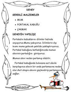 ASİT DENEYİ - OKUL ÖNCESİ - KIRTKIRTLA School Teacher, Pre School, Infant Activities, Activities For Kids, Das Experiment, Learn Turkish, Blog Writing, Science For Kids, Science Experiments