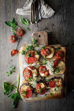 pizza margarita Because blog recetas caseras
