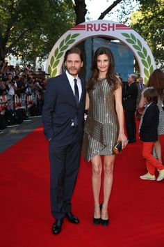 Daniel Bruhl and Alexandra Maria Lara at the movie #premiere in London