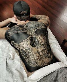 54 Best Full Body Tattoo - Nude Body Tattoos for Girls and Guys Badass Tattoos, Sexy Tattoos, Life Tattoos, Body Art Tattoos, Sleeve Tattoos, Tatoos, Full Back Tattoos, Back Tattoos For Guys, Full Body Tattoo