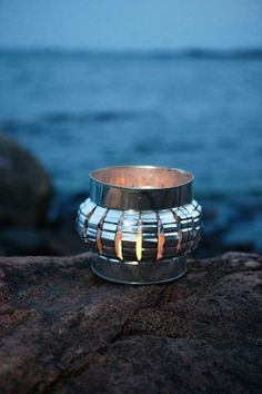 Valoa pihalle   Kotivinkki Metal Crafts, Recycled Crafts, Recycling, Rings For Men, Diy, Jewelry, Ideas, Men Rings, Jewlery
