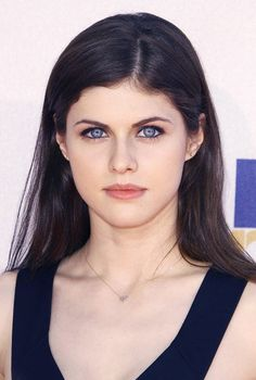Alexandra Daddario, I think she would make an amazing Anastasia Steele just by her eyes. Curl her hair and she is Ana!