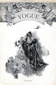 Vogue December 1892 | First issue of Vogue