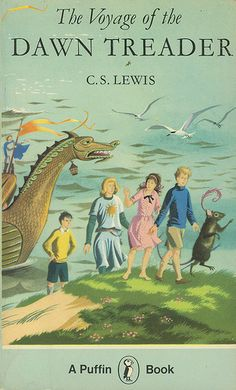 Vintage Puffin Book 'Voyage of the Dawn Treader' C S Lewis (Narnia) 1978 Science Fiction, Chronicles Of Narnia Books, Books To Read, My Books, Reading Books, Mystery, Romance, Cs Lewis, Vintage Children's Books