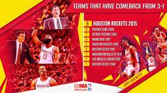 After facing a 3-1 series deficit, the Houston Rockets storm all the way back to set up a Western Conference Finals showdown with the Golden State Warriors!