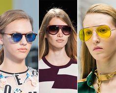Spring/ Summer 2015 Eyewear Trends: Bright Sunglasses