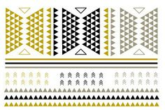 PWB99051 - Metallic flash tattoo 1 sheet - $7.99 : Shop Trendy Jewelry and Accessories, Peeny Wallie Boutique