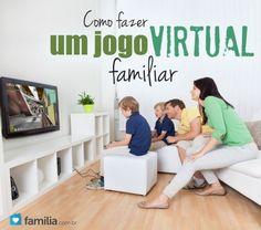 Como fazer um jogo virtual familiar.
