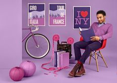 PANTONE Color of the Year 2014 - 18-3224 Radiant Orchid.