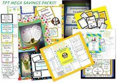 HUGE teaching essentials mega savings pack!