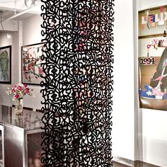 hanging room divider ideas | wall partition ideas | organizing for