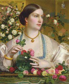 Grace Rose by Frederick Sandys - Frederick Sandys - Wikipedia, the free encyclopedia