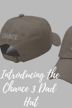Introducing the Chance 3 Dad Hat! Stylish, Simple, and if you're a Chance The Rapper Fan, then you will love this hat. Our die-hard Chance The Rapper Fan's are going crazy for this hat. Chance 3, 3 Hat, Chance The Rapper, Wearing A Hat, Die Hard, Dad Hats, Going Crazy, Diy Fashion, Baseball Hats