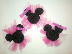 Mini Mouse Hair Bow