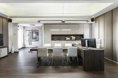 #decoración #interiorismo #diseñodeinteriores Elegancia en la oficina de Ready Group. Más en: http://greenandfreshdecor.blogspot.com.es/2014/06/elegancia-en-la-oficina-de-ready-group.html