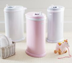 Ubbi Diaper Pails In my baby's room, the trash (can) is a treasure! Still hoping for an Ubbi! Crib Accessories, 21 Day Fix Meal Plan, Baby Room Neutral, Diaper Pail, Newborn Diapers, Baby Furniture, Baby Registry, Baby Essentials, Pottery Barn Kids