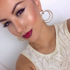 Love the shimmer on her cheeks! Get this look with Mary Kay Cosmetics! Ask me how!