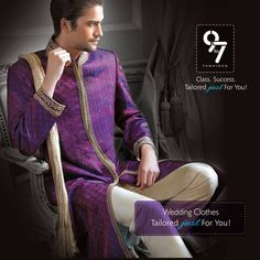 Be the man, she desires @9to7fashions serves you at your door. Call:8080927927 #Weddings #Menswear #Mumbai #chembur visit us on http://www.9to7fashions.com/