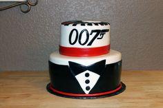 James Bond 007 Birthday Cake