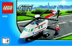 City - Helicopter Rescue [Lego 4429]