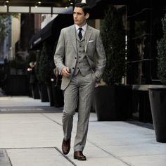 #grey#threepiece#suit