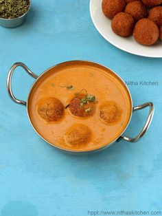 malai kofta curry, mughalai malayi kofta gravy,pan shallow fried cottage cheese dumplings dunked in tomato curry,low fat low calorie curry for naan and chapathi varieties,side dish recipe for flavored basmati rice,side dish for pulav and cumin jeera rice, nitha kitchen