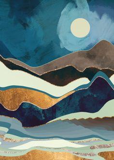 Autumn Hills Canvas Wall Art by SpaceFrog Designs Landscape Wallpaper, Landscape Art, Landscape Paintings, Landscape Tattoo, Landscape Background, Desert Landscape, Abstract Landscape Painting, Landscape Designs, Landscape Photography