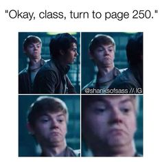 """This Happened To Me In Class On Friday My Math Teacher Was Like """"Okay Class Open Your Textbooks To Page 250"""" And I Looked Straight At The Teacher And Said No"""