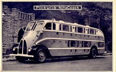 A Pickwick NiteCoach Bus