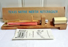 Vintage Texas Native Inertia Nutcracker Model 7141 Complete W/instructions Nice