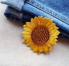 Sunflower patch Yellow Flower Patch for Jeans Iron on Patch Sew On Patch Embroidery Patch Applique Patch Scrapbooking idea DIY Craft Sunflower Patch, Yellow Sunflower, Yellow Flowers, Sew On Patches, Iron On Patches, Patched Jeans, Embroidery Patches, Cotton Lace, Sewing For Kids