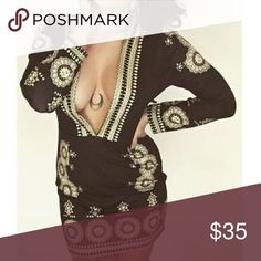 Selling this 🌹 Printed Bodycon Dress on Poshmark! My username is: pari09. #shopmycloset #poshmark #fashion #shopping #style #forsale #Dresses & Skirts