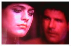 Although it's been said that this shot was an accident, if you notice Deckard's eyes, he looks like a replicant.