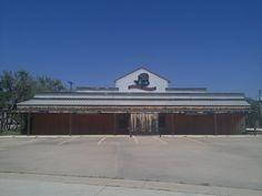 Old closed down dance hall on South 11th Street Abilene Texas