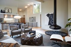 Interior Design by Rock Kauffman Design I Architecture by Chad Gould Architect LLC I New Urban Home Builders I As featured in Grand Rapids Cosmopolitan Magazine I Photography by Ashley Avila