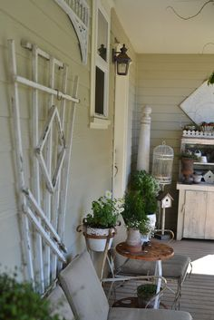 Faded Charm porch