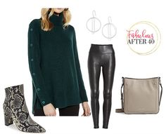 3 Cozy Fall Sweater Outfits to Shop Now! – - 3 Cozy Fall Sweater Outfits to Shop Now! Cozy Fall Outfits, Fall Fashion Outfits, Fall Fashion Trends, Sweater Outfits, Autumn Fashion, Casual Outfits, Womens Fashion, How To Wear Leggings, Plus Size Fashion For Women
