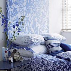 Dormitorios decorados en azul | Decoración Hogar, Ideas y Cosas Bonitas para Decorar el Hogar