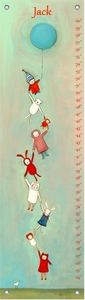 We All Fly Together Growth Chart, Creative Thursday by Marisa (12x42)