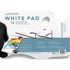 Palettes 83931: New Wave - White Pad Paper Palette - Hand Held Nw403 -> BUY IT NOW ONLY: $33.3 on eBay!