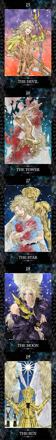 Part Four Saint Seiya Gemini Story Tarot Cards