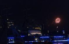 Feuerwerk in Hamburg - hautnah erleben