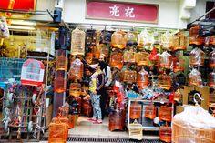 #HongKong bird market, Kowloon