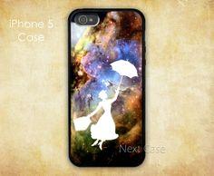 Mary poppins iPhone 5 caseFox Fur Nebula graphic print by NextCase, $6.99