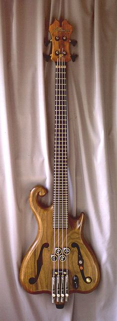 Atlansia Quartertone Bass. BASS FOUNDATION: Japanese custom electric art basses; 1 to 6 string models; highly original in design and technology. The company also makes a 48 fret bass… frets every quarter tone!